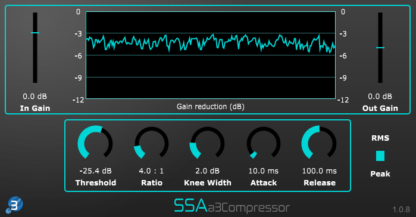 a3Compressor- Third order Ambisonics compressor plugin