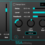 a3Delay - Third order Ambisonics delay plugin