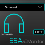 a3Monitor - Third order Ambisonics stereo and binaural rendering plugin