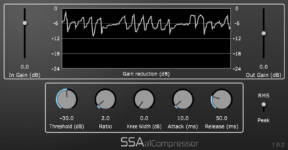 a1Compressor - First order Ambisonics compressor plugin