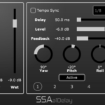 a1Delay - First order Ambisonics delay plugin