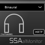 a1Monitor - First order Ambisonics stereo and binaural decoding plugin