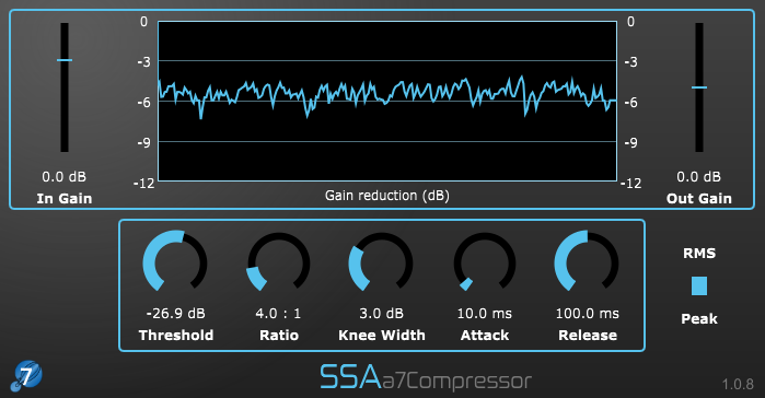 a7Compressor- Seventh order Ambisonics compressor plugin